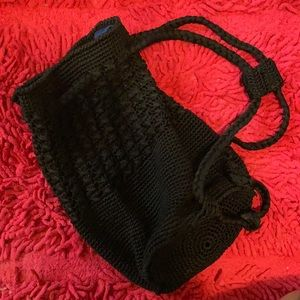 Crochet Bag - black